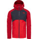 The North Face Stratos Jacket Men Rage Red/Asphalt Grey/High Risk Red